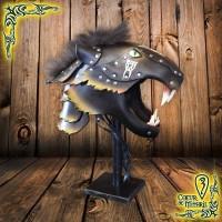 Larp Helmet Black Panther