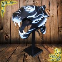 Larp Helmet Black Tiger