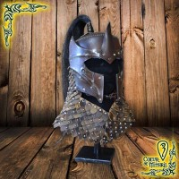 Larp Helmet Dark Elf Prince BR