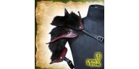 Épaulette pour GN du Griffon Barbare Rouge