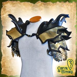 Épaulettes pour GN du Conquérant Dragon