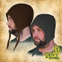 LARP Padded Coif of Squire