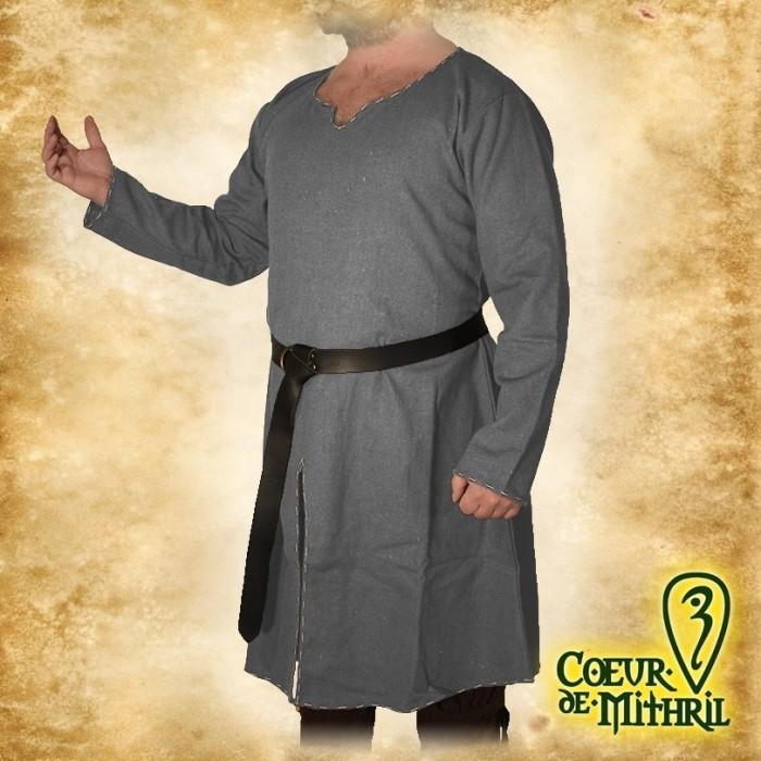 LARP Saxon Long Tunic Black